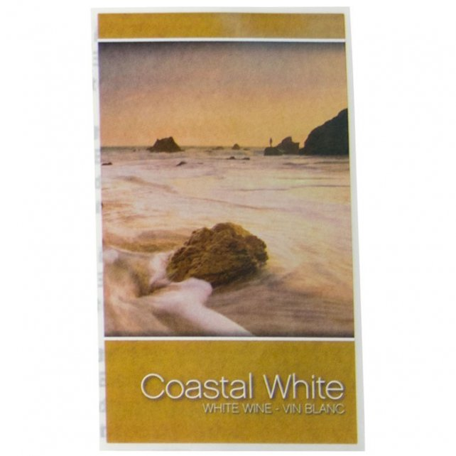 Wine Labels - Coastal White : Midwest Supplies